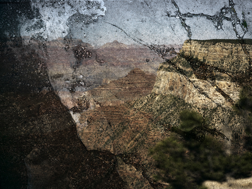 Abelardo Morell, Tent Camera Image on Ground: View of the Grand Canyon From Trailview Overlook, 2011