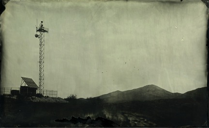 "Project 28, 12x20"", Unique Wet Collodion Ambrotype, 2012"