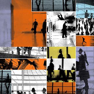 """Jody Zellen, Bldg Series 1, 2002, c - print, 24"""" x 24"""""""