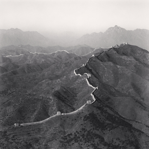 Si Ma Tai Great Wall, Beijing, China (2007) © Michael Kenna