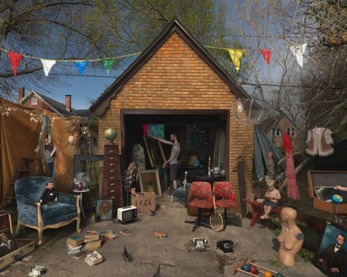 Garage Sale (2013) © Julie Blackmon