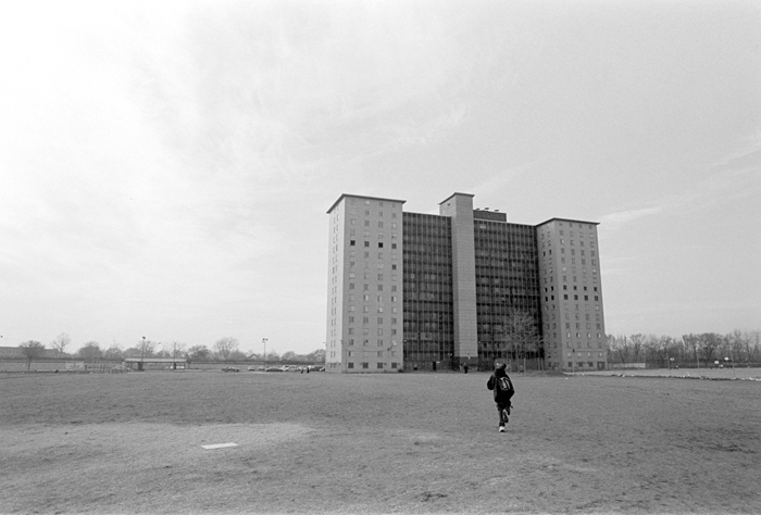 Jason Reblando - Robert Taylor Homes, from the series Outside Public Housing