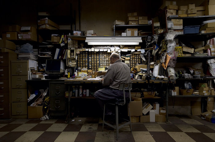 Joesph O. Holmes  - Tony, Ganmar Electronics