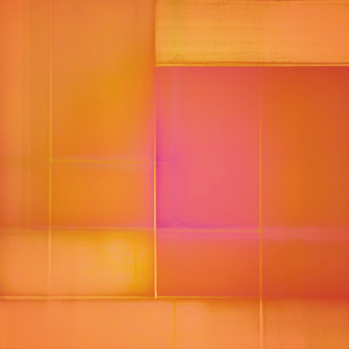 "David Mitchell AB7070 185, 2013. C-print. 70 1/2 x 70 1/2"". Edition 2."