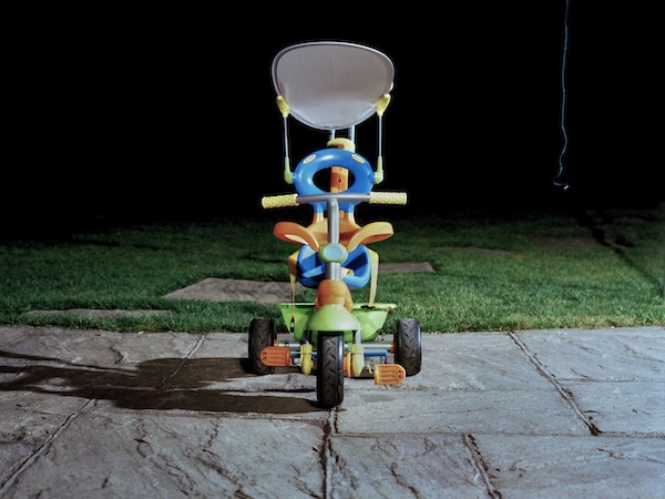 Gianni Forte, Luca's Tricycle, 2010, Neg Film Kodak Portra 400, Printed on Fuji Flex C-Type Glossy, 24 x 20 inches