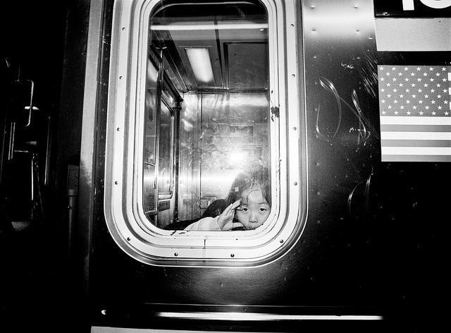 Girl on the R Train