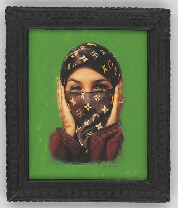 Image: Saida in Green, 2000 by Hassan Hajjaj © the artist / Victoria & Albert Museum, London. Art Fund Collection of Middle Eastern Photography at the V&A and the British Museum.