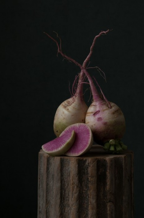 Watermelon Radish © Lynn Karlin