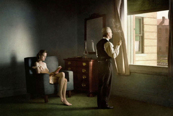 Richard Tuschman, Hotel by the Railroad, 2012