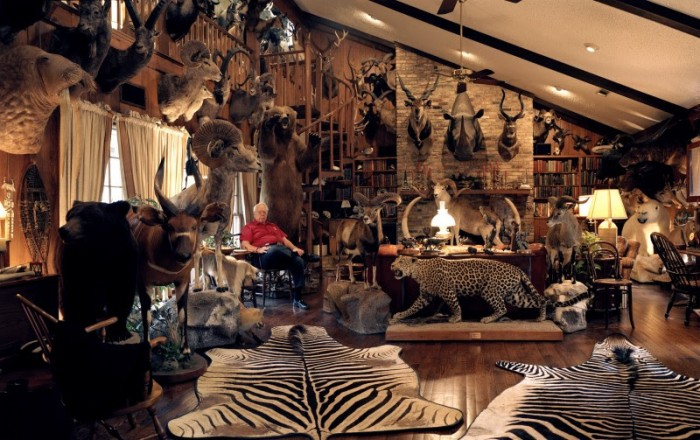 Trophy room, Dallas, Texas, USA © David Chancellor/INSTITUTE