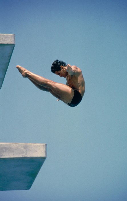 Los Angeles 1984 OG, Diving, 10m platform Men - Gregory LOUGANIS (USA) 1st.