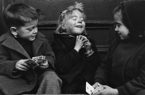 The Card Players, West Village, NYC, 1947
