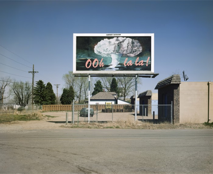 Ooh La La de la série Billboards, 1985, Larry Sultan et Mike Mandel
