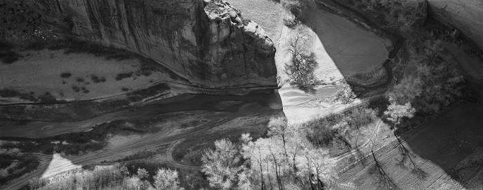 Antelope Ruins, Canyon de Chelley, Arizona, 1993
