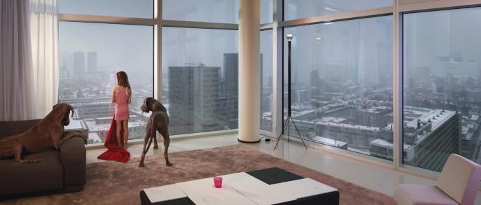 Ellen Kooi_Rotterdam-towerdogs_camara oscura