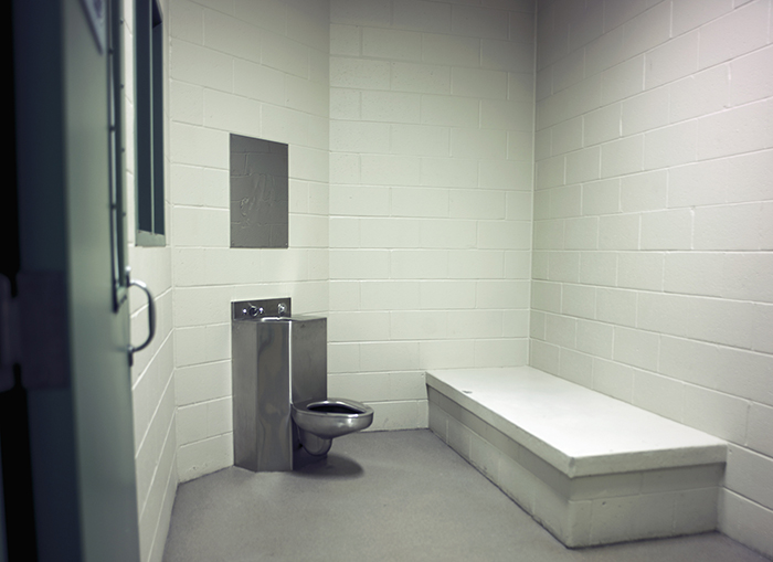 Holding Room, Linn County Juvenile Detention Center
