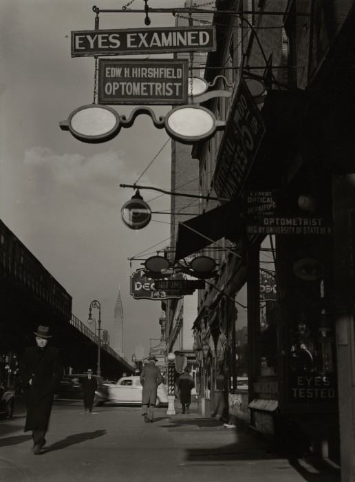 Optometrist Hirshfield, 139 3rd Ave, NYC, c. 1937