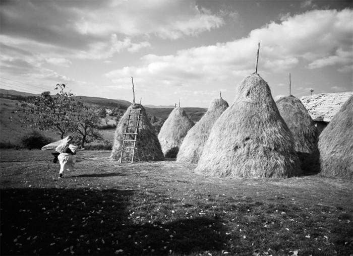 Haystacks Kosova, 2006, Silver Gelatin Print