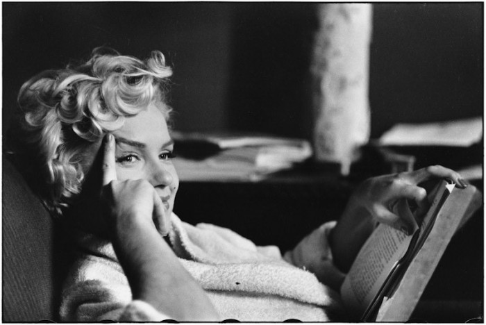 Marilyn Monroe, New York, 1956 © Elliott Erwitt / Magnum. Image courtesy of Beetles + Huxley
