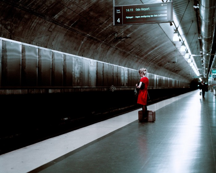 Thomas Zanon-Larcher, Nora, Trainstation II, Oslo, August 2006