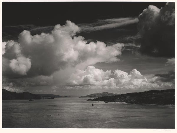 The Golden Gate before the Bridge, 1932 Vintage gelatin silver print, 6-5/8 x 9-1/16 inches Photograph by Ansel Adams © 2015 The Ansel Adams Publishing Rights Trust