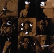 Luis González Palma, Lottery #1 (Lotería #1), 1989-91. Hand-painted gelatin silver prints. SBMA, Museum purchase with funds provided by the Wallis Foundation.