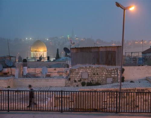 Eitan Simanor, Jérusalem Terre de Pèlerins