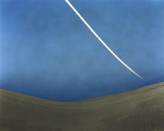 "Image: Gregg Kemp ""Moon setting over Jockeys Ridge"""