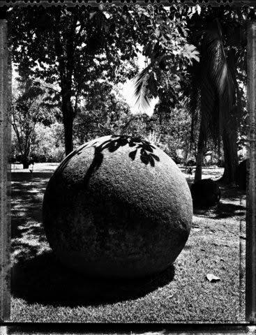 Stone spheres costa rica 2000