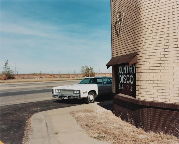 Ft. Worth-Dallas Club, next to the Pantex nuclear weapons plant, Carson County, Texas, 1985.