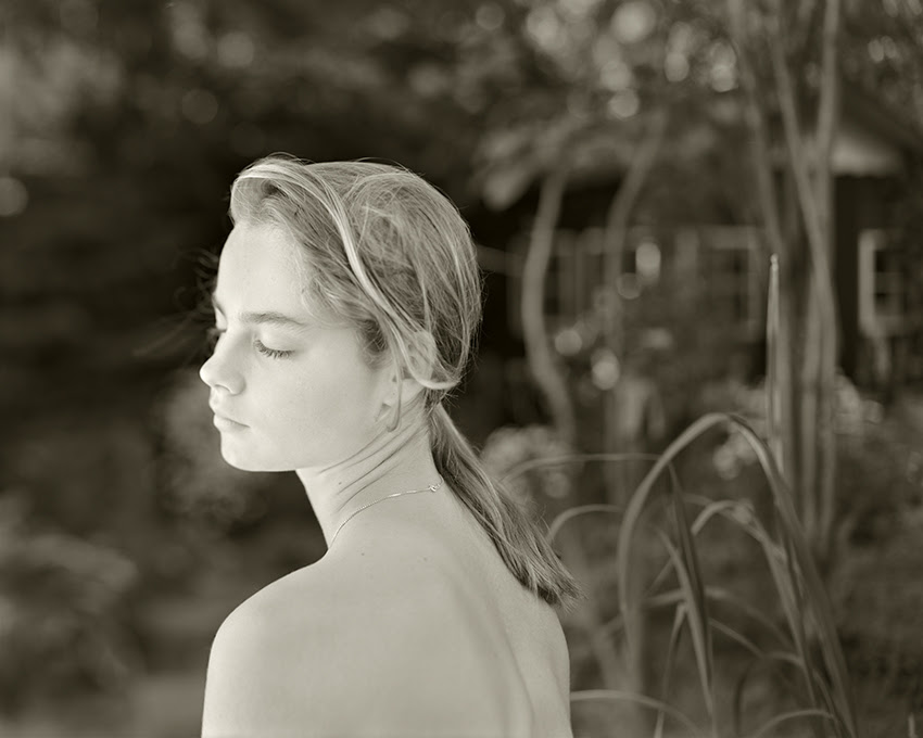 Jock Sturges. Hanneke; Vierlingsbeek, The Netherlands, 1995