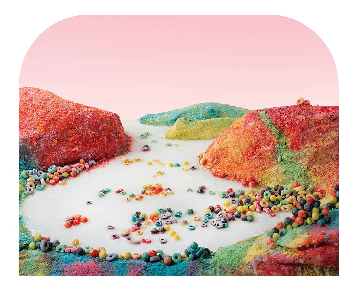 """Fruit Loop Landscape, Barbara Ciurej and Lindsay Lochman"