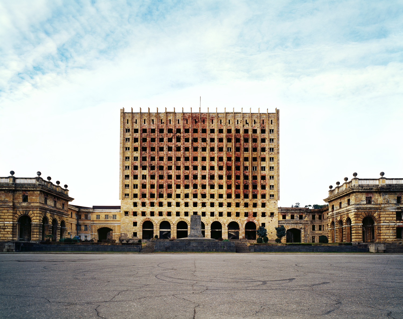 Building of the Council of Ministers of Abkhazia, Sukhumi, Abkhazia. Maria Gruzdeva/Schilt Publishing