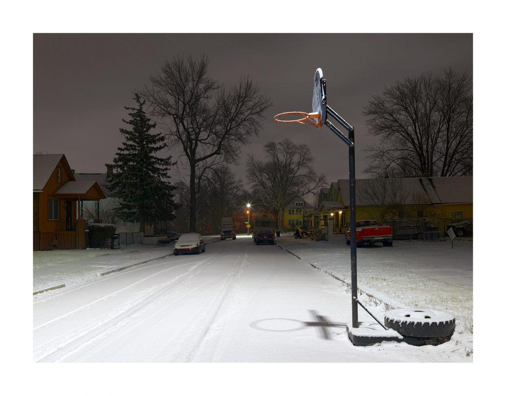 Book Review A Detroit Nocturne By Dave Jordano  Fstop Magazine Hoop Dreams  Eastside Detroit