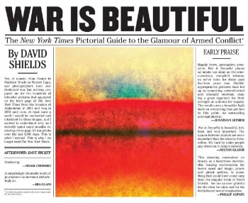 War Is Beautiful Cover